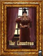 Portrait Art - Nobles - The Countess