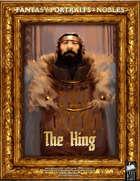 Portrait Art - Nobles - The King