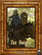 Portrait Art - Nobles - The Knight
