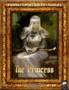 Portrait Art - Nobles - The Princess