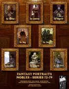 Portrait Art - Nobles (72-79) [BUNDLE]