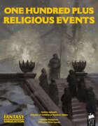 1d100 Plus Religious Events