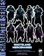 Cyberpunk Art - Wasteland Mercenaries