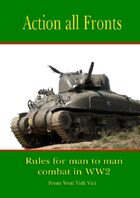 Action All Fronts - world war 2 land wargames rules