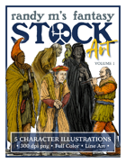 Randy M's Fantasy Stock Art Volume 1