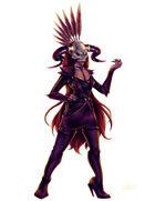 THC Stock Art: War - Horsewoman (png)