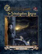 Zeitgeist: The Gears of Revolution - Act One: The Investigation Begins (Pathfinder)