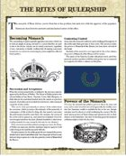 ZEITGEIST: The Gears of Revolution Premium Handouts (Acts Two and Three)