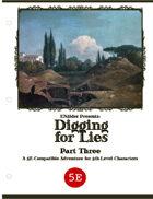 ZEITGEIST #3.3: Digging For Lies (5th Edition)