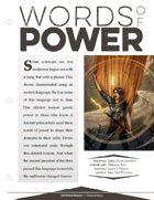 EN5ider #203 - Words of Power