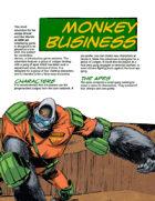 Judge Dredd Case File #1: Monkey Business