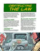 Judge Dredd Case File #4: Obstructing the Law