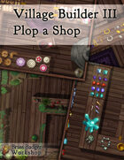 Village Builder III - Plop a Shop