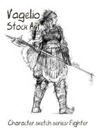 Character stock sketch series: Fighter
