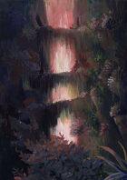 Vagelio Kaliva - Stock Gouache Illustration - Forest bridges