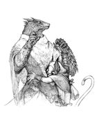 Character stock sketch series: Cat therapy