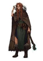 Stock character digital sketch: Druid
