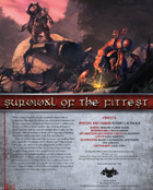Survival of the Fittest (Starting)