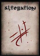 Alteration Spell Cards