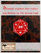 Demonic Random Dice Tables