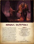 Demonic Excretions