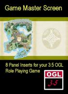 3.5 OGL Masters' Screen