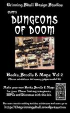 Grim's Dungeons of Doom: Books, Scrolls and Maps, Vol 2