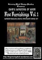 Grim's Dungeons of Doom: Fine Furnishings Volume 1
