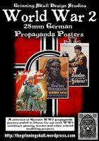 World War 2 28mm German Propaganda posters