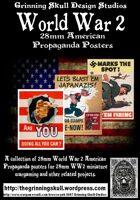 World War 2 28mm American Propaganda posters