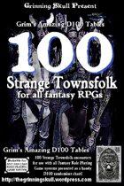 100 Strange Townsfolk for all Fantasy RPGs