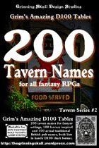 200 Tavern Names for all Fantasy RPGs