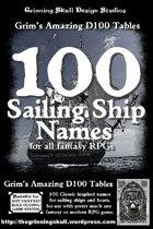 100 Sailing Ship Names for all fantasy RPGs