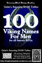 100 Viking Men's Names for all fantasy RPGs