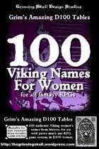 100 Viking Women's Names for all fantasy RPGs