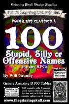 100 Stupid, Silly or Offensive Names for any RPG