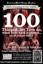 100 Things Killer Toys do, when your back is turned for all fantasy RPGs