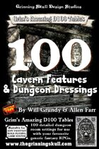 100 Cavern features & Dungeon dressings for all fantasy RPGs