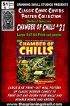 Classic Comic Covers Posters: Skeletal Spectres 5x5: Chamber of Chills #21