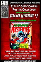 Classic Comic Covers Posters: Skeletal Spectres 5x5: Strange Mysteries #7