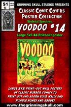 Classic Comic Covers Posters: Skeletal Spectres 5x5: Voodoo #14