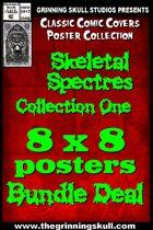 Classic Covers: Skeletal Spectres 1 8x8 Bundle  [BUNDLE]
