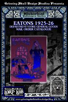 LARP LAB Historical Reference: 1925-26 General goods Catalogue
