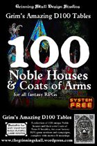 100 Noble Houses & Coats of Arms for all fantasy RPGs