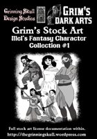 Grim's Stock Art with Mels Fantasy Character Collection #1