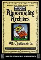 Abnormality Archives: #11 Chukkasaurus
