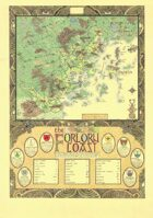 Fantasy Map of the Forlorn Coast