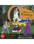 Worlde of Legends™ MP3: Music of Kaendor 01 - Maelán'do'Lesára - Worlde of Legends (Main Theme)