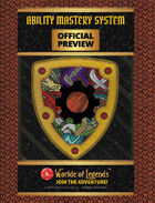 Worlde of Legends™ PREVIEW: Ability Mastery System