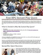 Fyxt RPG Instant Play Quest